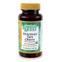Tabletki SWANSON HiActives Tart Cherry 465mg- Wyciąg z owoców wiśni, 60 tabl