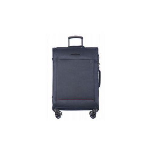 PUCCINI walizka duża miękka z kolekcji OSLO EM50530 4 koła zamek szyfrowy z systemem TSA materiał nylon, EM50530 A