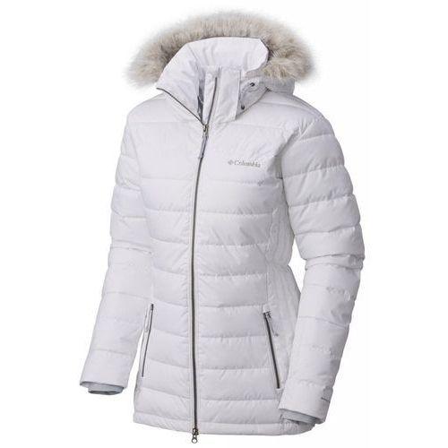 wykwintny design najtańszy oficjalny sklep Kurtka zimowa damska Ponderay Jacket White S (COLUMBIA)