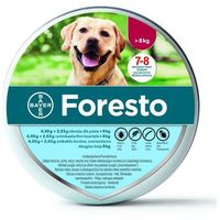 Bayer foresto obroża dla psów dużych 70cm + drontal 2 tab - 1 tab na 35kg