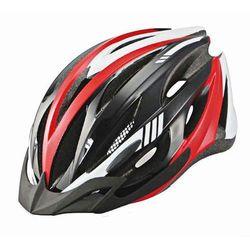 Kask rowerowy mb-02 czarno-czerwony mat marki Ozone
