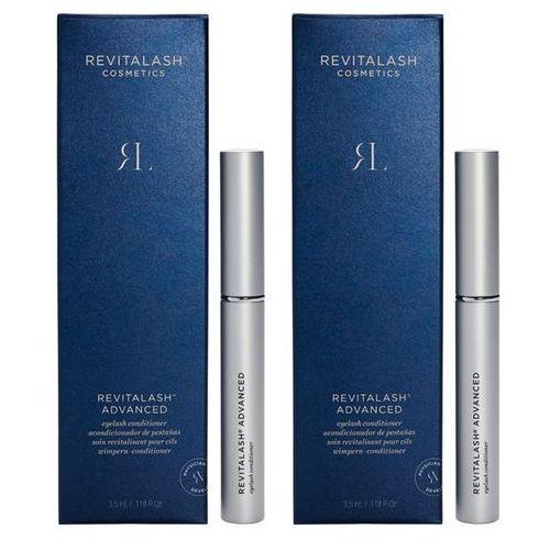 Revitalash eyelash advanced | zestaw: odżywka pobudzająca wzrost rzęs 2x3,5ml (9753197531267)