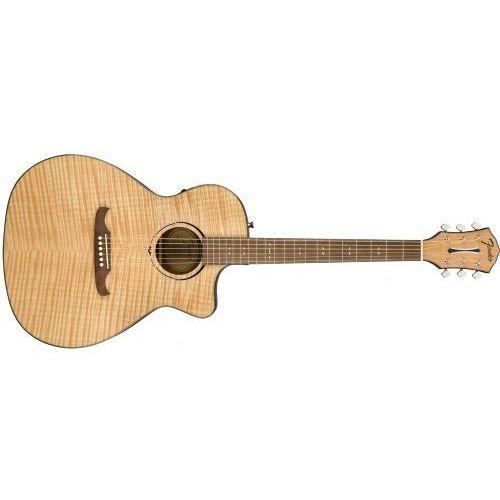 fa-345 ce auditorium, laurel fingerboard, natural gitara elektroakustyczna marki Fender