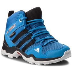 Adidas Buty - terrex ax2r mid cp k ac7975 blubea/cblack/hireor