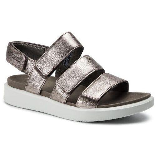 Ecco Sandały - flowt w 27363354893 warm grey metallic