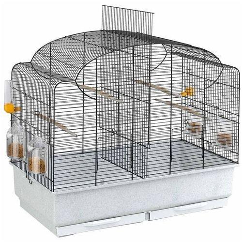 Ferplast 52501217 canto klatka dla ptaków dzielona z wyposażeniem