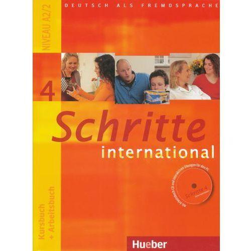Schritte international 4. Kursburch + Arbeitsbuch. (Podręcznik + Ćwiczenia) + CD. Edycja niemiecka (9783190018543)