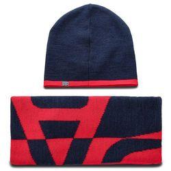 Zestaw szalik i czapka - franklin box n0yhxx blu marine 176 marki Napapijri