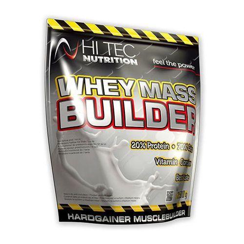 Whey mass builder - 1500g - dark chocolate Hi-tec