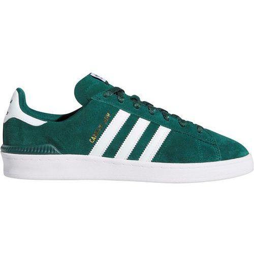 Adidas Buty - campus adv cgreen/ftwwht/goldmt (cgreen-ftwwht-goldmt) rozmiar: 45 1/3