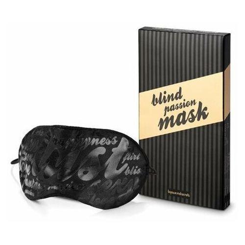 Satynowa maska na oczy Blind Passion - Bombowa cena
