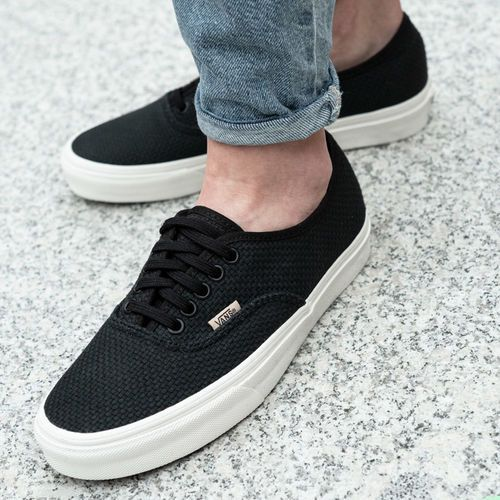 authentic - woven checkerboard (vn0a38emvko1) marki Vans