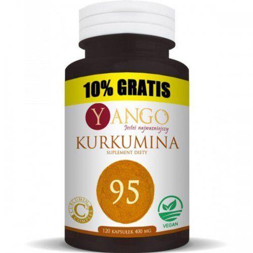 Kurkumina 95 - 120 kapsułek (ekstrakt + piperyna) Yango