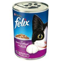 kąski w galarecie, 6 x 400 g - wołowina z drobiem marki Felix