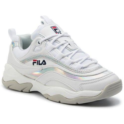Sneakersy ray m low wmn 1010763.00k whitesilver, , 36 41 (Fila)