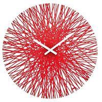 Koziol Zegar ścienny silk, okrągły - kolor czerwony, (4002942204122)