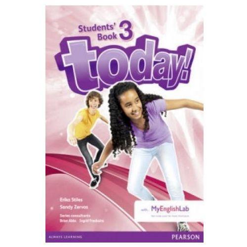 Today! 3. Podręcznik + MyEngLab. Wersja Dla Szkół Językowych (2014)