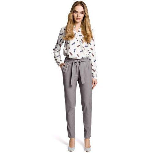 aa01c5f362 Czarne eleganckie spodnie rurki z eko-skóry (MOE) opinie + recenzje ...