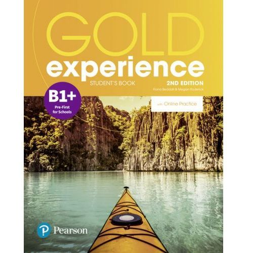 Gold Experience 2nd Edition B1+. Podręcznik + Online Practice (2018)