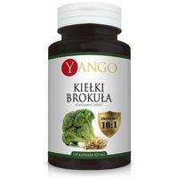Kapsułki Kiełki brokuła YANGO - ekstrakt 10:1 - 425mg - 120 kapsułek