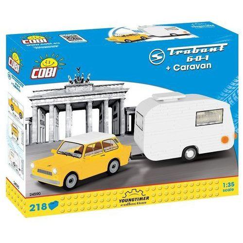 Klocki COBI Cars - Trabant 601 + Caravan 223kl (24590)