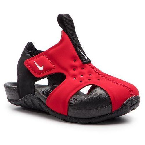 Sandały NIKE - Sunray Protect 2 (TD) 943827 601 University Red/White/Black, kolor czerwony