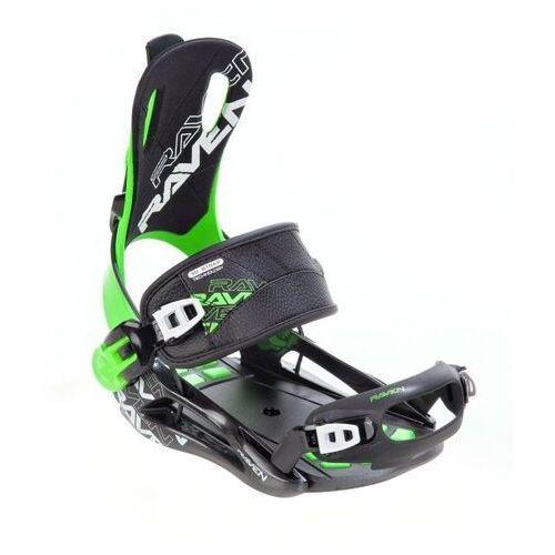 Wiązania snowboardowe fastec ft270 (green) 2020 marki Raven