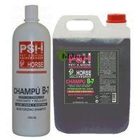 horse b-7 aloes + biotyna - szampon z biotyną dla koni i psów, do czarnego włosa 1l marki Psh