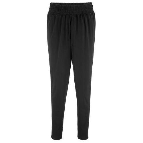 Spodnie alladynki czarny, Bonprix, 32-50