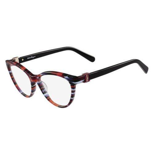 Okulary korekcyjne sf 2761 998 Salvatore ferragamo