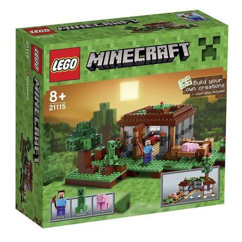 Lego MINECRAFT Pierwsza pomoc 21115