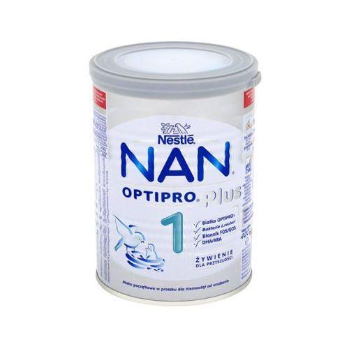 Nan Nestle optipro pus 1 400g mleko początkowe reuteri w proszku dla niemowląt od urodzenia