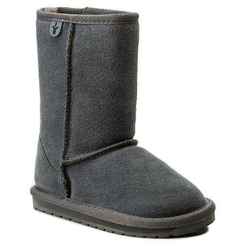 Buty - wallaby lo k10102 charcoal/anthracite marki Emu australia