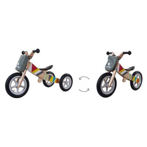 Sun baby Rowerek biegowy drewniany 2w1 twist e02.001.1.1 (5908446781529)