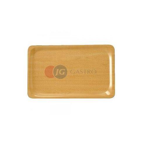 Taca kelnerska antypoślizgowa drewniana prostokątna GN 1/1 414010, 414010