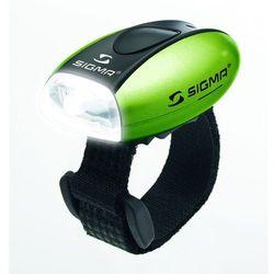 Przednia diodowa lampa rowerowa Sigma Micro (zielona)