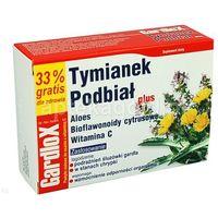 GardloX Tymianek i Podbiał Plus 24pastylki do ssania (5906948824379)