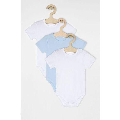 - body niemowlęce 56-98 cm (3-pack) marki Blukids
