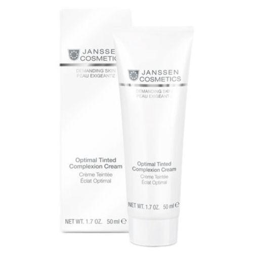 Janssen cosmetics optimal tinted complexion cream odżywczy krem koloryzujący na dzień spf 10 (011) - Rewelacyjna oferta