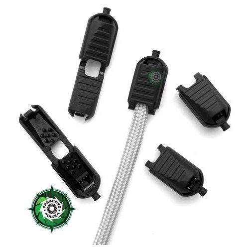 Klamerka plastikowa Zipp Micro, mini kształt, 15 mm x 8 mm x 8 mm