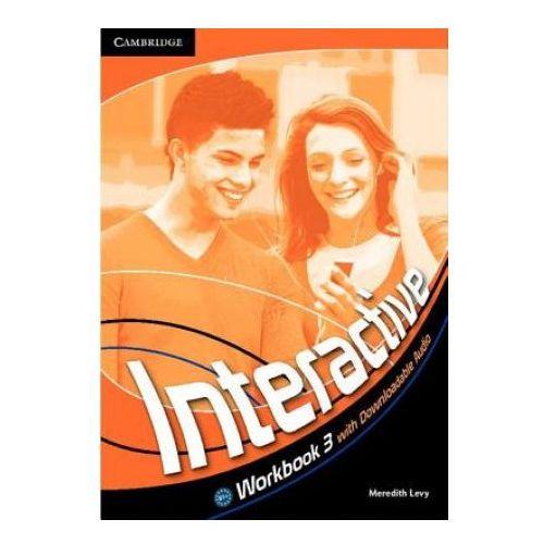 Interactive 3 Workbook (zeszyt ćwiczeń) with downloadable audio (lp), Meredith Levy