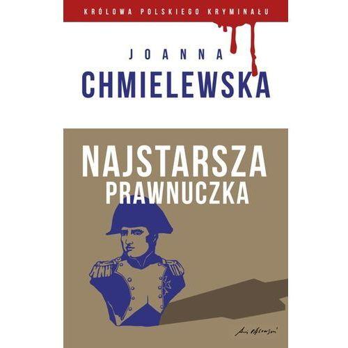 Najstarsza prawnuczka. kolekcja. królowa polskiego kryminału. część 19 marki Chmielewska joanna