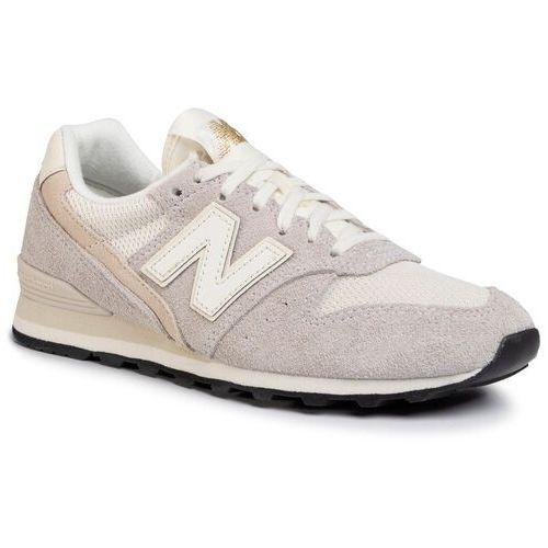 Sneakersy NEW BALANCE - WL996VHA Beżowy Szary, kolor szary