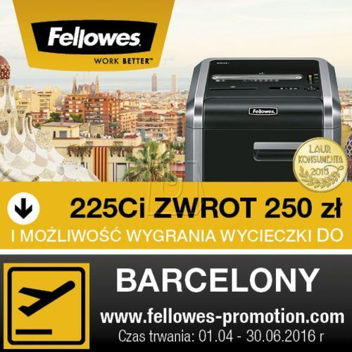 Fellowes 225ci 0043859628162