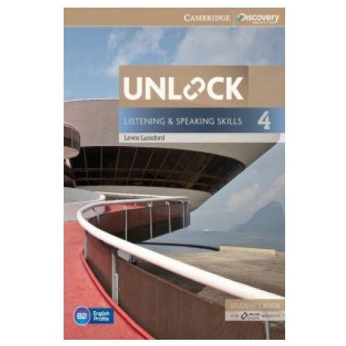 Unlock: Listening & Speaking Skills 4. Podręcznik + Online Workbook (9781107634619)