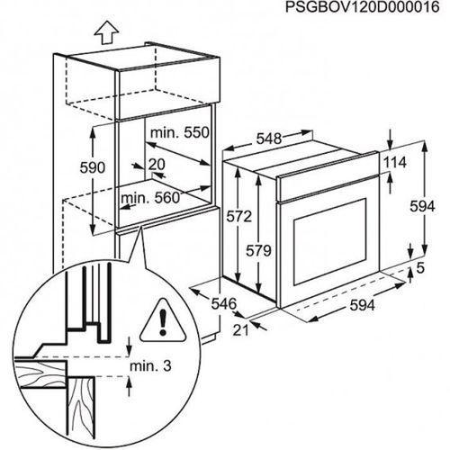 Electrolux EOB5351AO