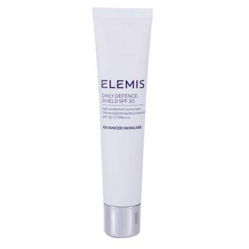 Advanced skincare daily defence shield spf30 preparat do opalania twarzy 40 ml dla kobiet Elemis - Super oferta