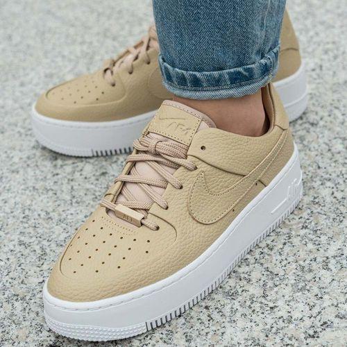 Nike Sportswear Buty Air Force 2 Sage High Buty sportowe damskie czarne w