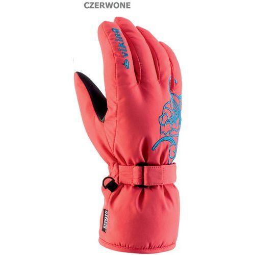 Damskie rękawice narciarskie mallow czerwo 5 marki Viking