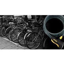 Onguard dobermann 8027 zapięcie kablowe 185 cm Ø15 mm czarny linki rowerowe